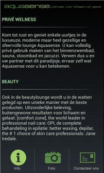 Aquasense App poster