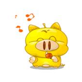 Greeting messenger icon