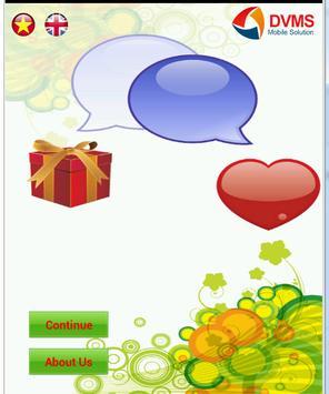 Greeting messenger poster