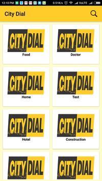 CITY DIAL screenshot 1