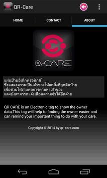 QR-Care apk screenshot