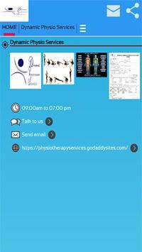 Dynamic Physio Services screenshot 7
