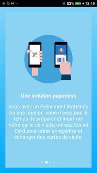 SocialCard Poster Screenshot 1 2
