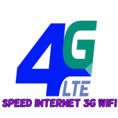 Speed Internet 3G 4G Wifi icon