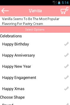 SevenDays Cakes screenshot 4