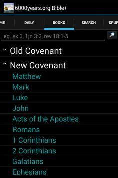 6000years.org Bible plus apk screenshot