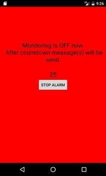 Safe Trip: SMS crash detector apk screenshot