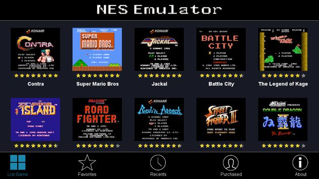NES Emulator + All Roms + Arcade Games poster