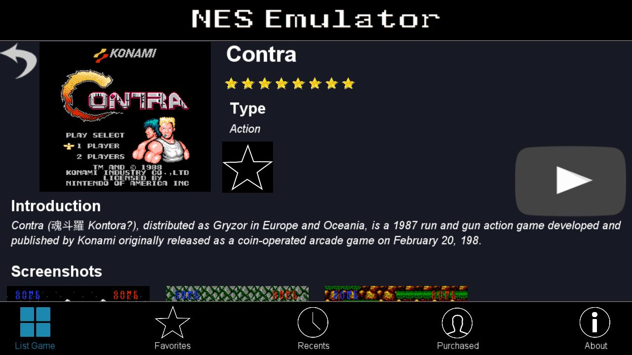 NES Emulator - FC NES 100 IN 1 - Arcade Games for Android - APK Download