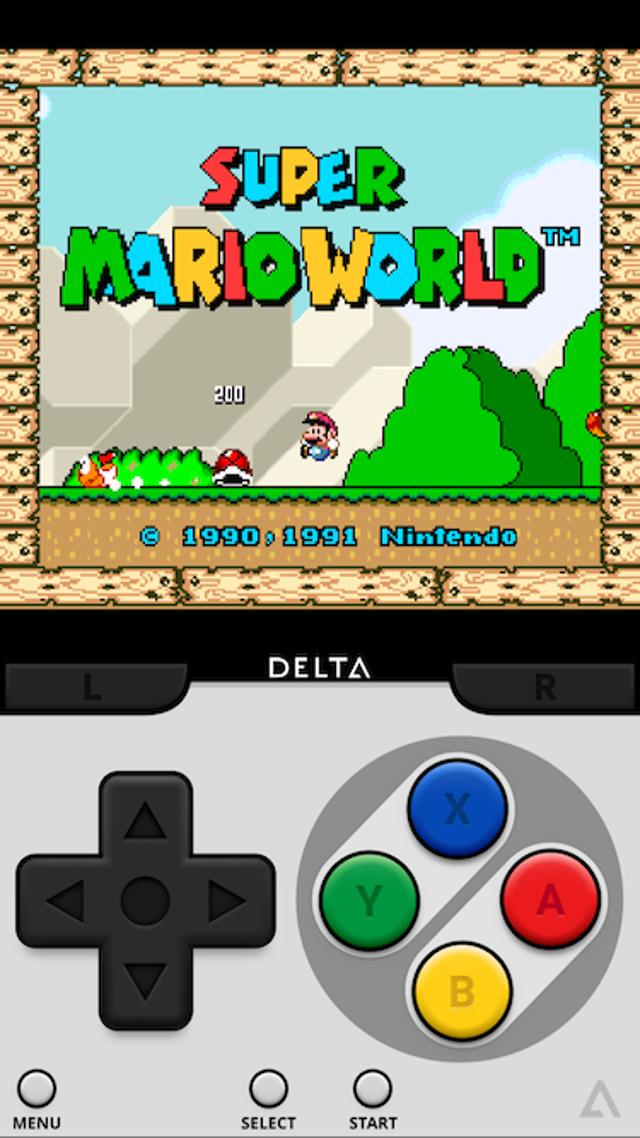 SNES Emulator - Super NES - SNES9x Dolphin for Android - APK