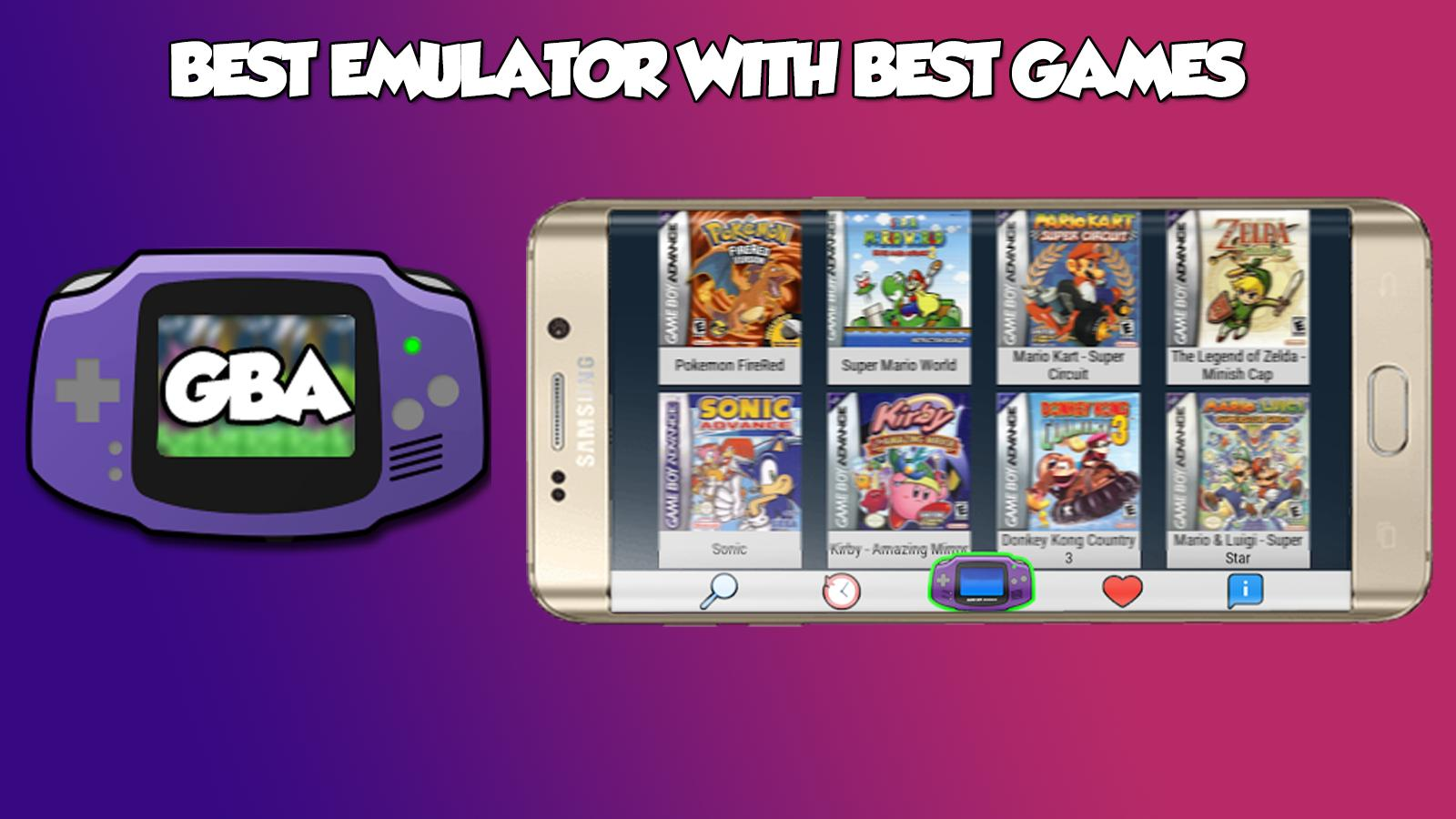 Emulator for GBA - Classic Games for Android - APK Download