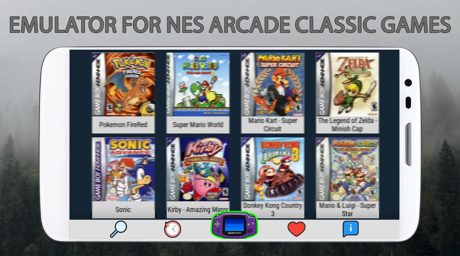 Emulator For NES - Old Arcade Games Free for Android - APK