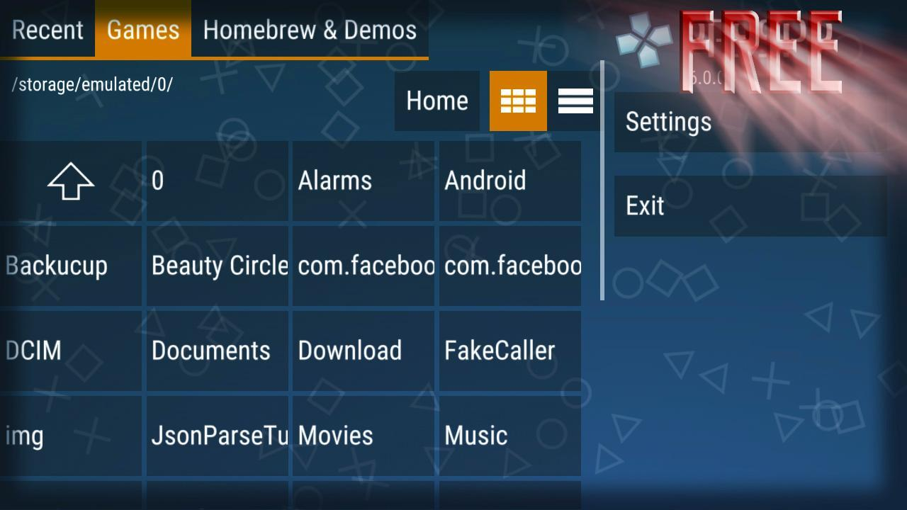 psp emulator games for android free download