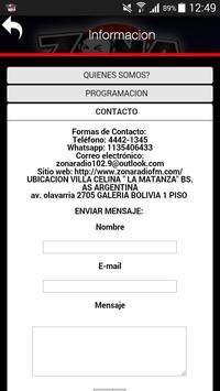ZONA RADIO 102.9 screenshot 4