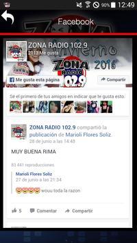 ZONA RADIO 102.9 screenshot 1