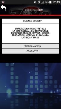 ZONA RADIO 102.9 screenshot 2