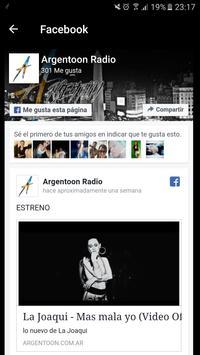 Argentoon Radio screenshot 3