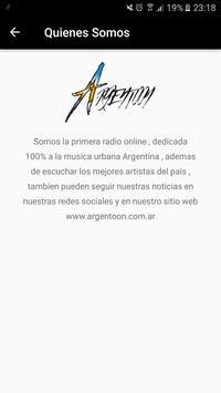 Argentoon Radio screenshot 6