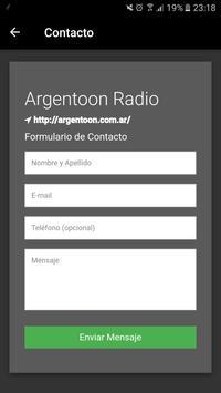 Argentoon Radio screenshot 7