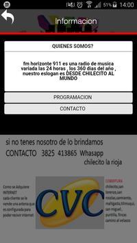 Fm Horizonte 911 screenshot 2