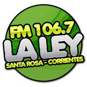FM LA LEY 106.7 icon