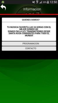 FM LA LEY 106.7 apk screenshot