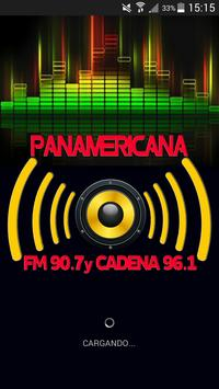 PANAMERICANA FM 90.7 poster
