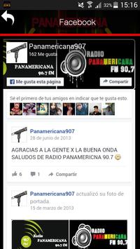 PANAMERICANA FM 90.7 screenshot 2