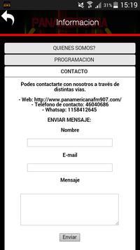 PANAMERICANA FM 90.7 apk screenshot