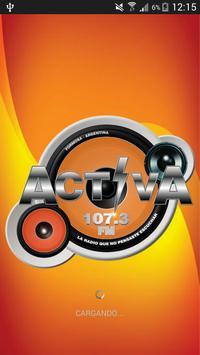 Radio Activa Formosa poster