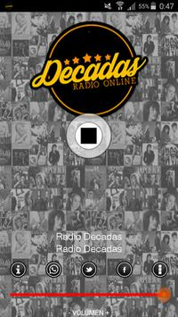 Radio Decadas Online screenshot 1