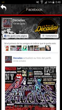 Radio Decadas Online screenshot 2