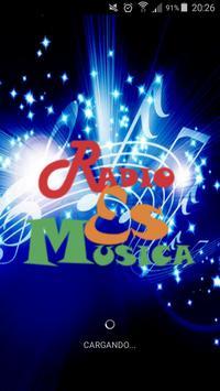 Radio es música poster
