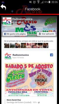 Radio es música screenshot 2