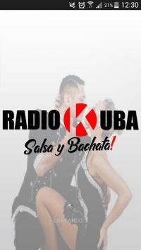Radio Kuba salsa y bachata poster