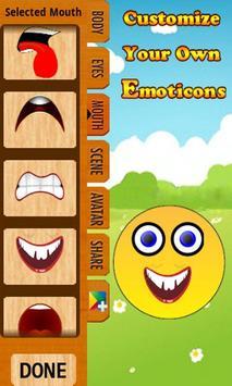 Emoticons Maker apk screenshot