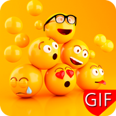 Love Stickers, Smileys, Emoji GIF Collection icon