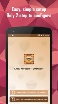Emoji Keyboard - Emoticons screenshot 2
