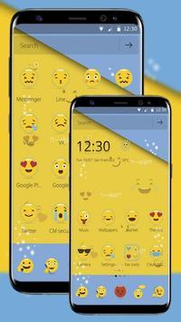Smiley Emoji Cute Theme screenshot 4