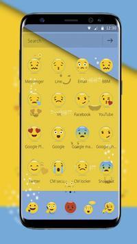 Smiley Emoji Cute Theme screenshot 2