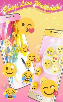 Emoji Live Wallpaper poster