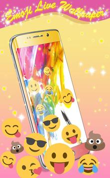 Emoji Live Wallpaper apk screenshot