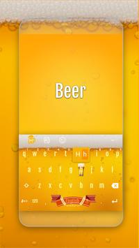 Beer Keyboard Theme poster