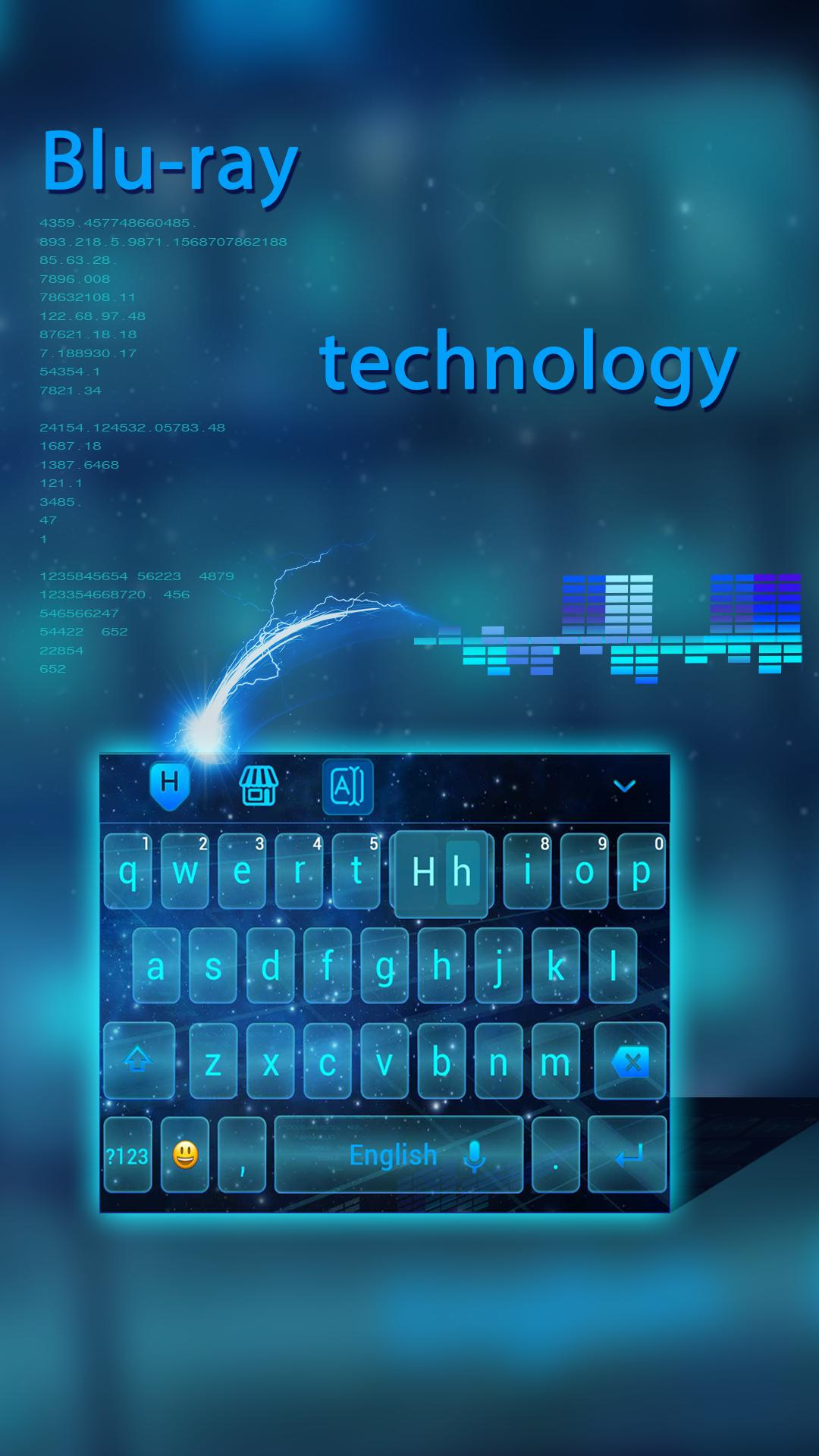 Blu-ray Technology Keyboard Theme for Android - APK Download