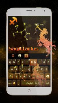 Sagittarius Keyboard Theme poster