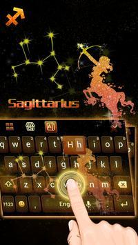 Sagittarius Keyboard Theme screenshot 1