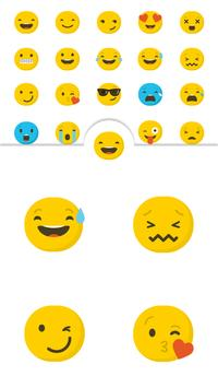 Cute Emoji Smiley Face Sticker apk screenshot