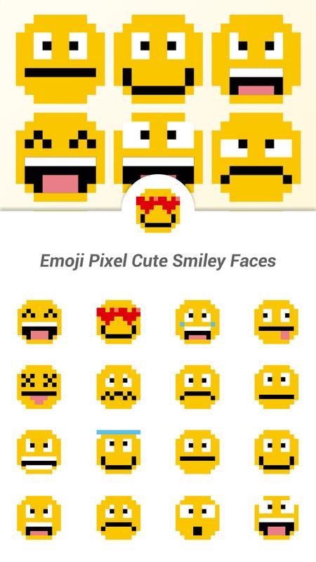 Emoji Pixel Cute Smiley Faces Apk Download Free Photography App
