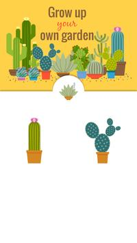 Green Floral Cactus Stickers screenshot 18