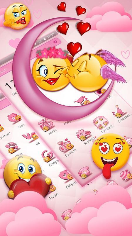 Valentinstag Emoji Liebe Fur Android Apk Herunterladen